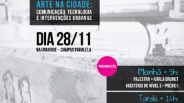 Ciber.Comunica 7 – Arte na Cidade